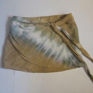 Free People Tie Dye Mini Skirt